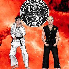 The Karate Kid 1984, Karate Kid Movie, Karate Kid Cobra Kai, Kai Arts, Jacob Bertrand, Cobra Kai Dojo, 1980s Films, Rock Poster, Kids Fans