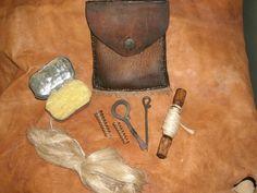 Longhunter Gun Cleaning Kit Fur Trade Mountain Man Black Powder New LQQK | eBay