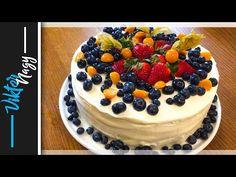 Ovocná torta s mascarpone krémom, veľmi chutná a rýchla | Viktor Nagy | recepty - YouTube