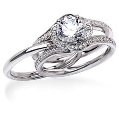 Round Cut CZ Engagement Ring