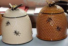 Bee Skep Cookie Jars
