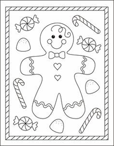 free christmas coloring pages gingerbread man coloring sheets gingerbread boy