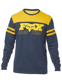 sale retailer 42858 a9bd9 Fox Racing Men s Race Team Long Sleeve Airline T-shirt
