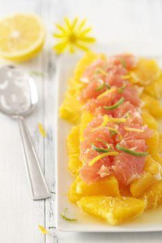 Honey Citrus Salad via epicureanmom.com