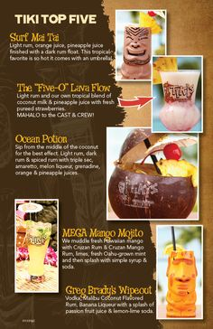 Tiki's Grill & Bar. Definitely going there when I go to Hawaii. :)