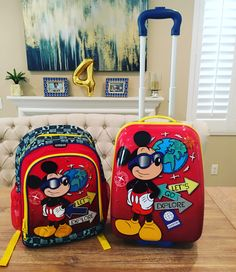 Luggage for our Disney cruise! Disney Reveal, Disney Cruise, Lunch Box, Photo And Video, Kids, Instagram, Photos, Young Children, Boys