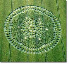 Crop circles (cercles de cultures)