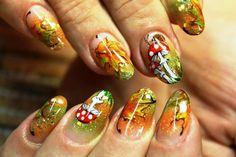 Актуальный осенний маникюр (67 фото) - Дизайн ногтей