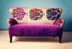 Resultado de imagem para sofá em patchwork