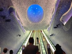 Napoli (IT), Toledo Metro Station.