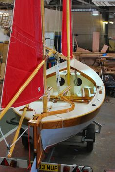 A nicely decked Caledonia Yawl