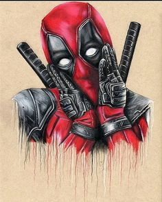 What do you think of the new Deadpool movie? #Deadpool pencil drawing by @skinwalker_art #supportartists #theartisthemotive . by worldofpencils