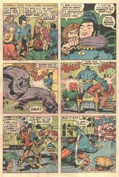 OMAC #5 (DC Comics - May 1975) Writer: Jack Kirby Illustrators: Jack Kirby (Pencils) & D. Bruce Berry (Inks)