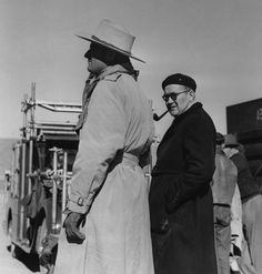 """Behind the scenes of John Ford's first sound western, 'Stagecoach.' """"It was as well no doubt the first Western inspired by a Guy de Maupassant story ('Boule-de-suif': 'Ball of Fat'), and the one film Orson Welles ran forty times (each screening with..."""