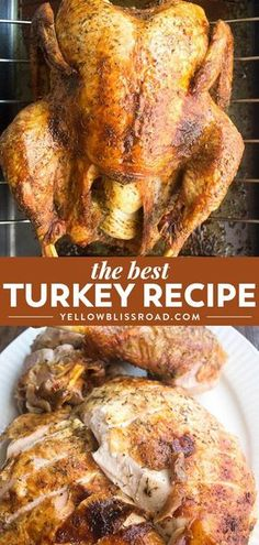 This is the BEST Thanksgiving Turkey Recipe! Learn how to cook a turkey with thi. This is the BEST Thanksgiving Turkey Recipe! Learn how to cook a turkey with this easy recipe - it will be the star of your Thanksgiving Dinner. recipes for two Best Thanksgiving Turkey Recipe, Thanksgiving Menu, Best Turkey Recipe Easy, Easy Turkey Recipes, Healthy Thanksgiving Recipes, 15 Pound Turkey Recipe, Overnight Turkey Recipe, Traditional Thanksgiving Recipes, Le Diner
