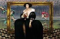La Robe Noir by Mike Worrall