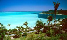 Praia de Matira, em Bora Bora.