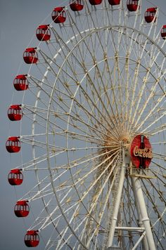 Coca Cola Ferris Wheel by David Coward - Okinawa