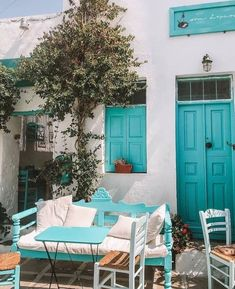 Serifos Island, Cyclades, Greece. Pretty in Turquoise