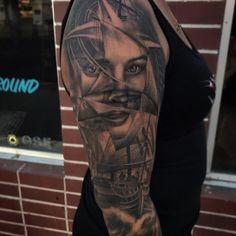 Jon Santos – Tattoo Artist | The Skull Museum | Sacramento, CA Hand Tattoos, Cool Tattoos, Butterfly Hand Tattoo, Tattoo Artists, Skull, Museum, Portrait, Sacramento, Content