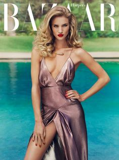 Rosie Huntington Whiteley - Harper's Bazaar UK January 2012