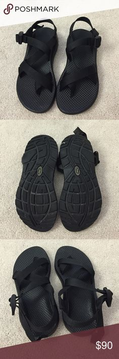 Chaco. Z Cloud. Black. Excellent condition!   no trades ✖️ no holds  offers considered through the offer button ♻️ if it's listed, it's available Chacos Shoes Sandals