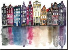Amsterdam Art Print by Claudia Libenberg at Art.com