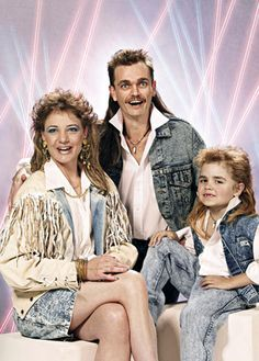 Laser light background, mullets all around, acid wash jeans...I can die now.