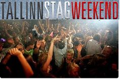 Dancing and partying with special packages during stag weekend in Tallinn.