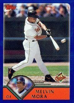 2003 Topps # 229 Melvin Mora Baltimore Orioles - Baseball Card by Topps. $1.73. 2003 Topps # 229 Melvin Mora Baltimore Orioles - Baseball Card