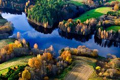 Lithuanian nature in autumn