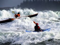 Rough Water skills on your Sea Kayak - ride it baby!!!