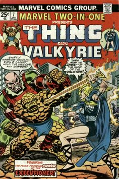 Marvel Two-in-One # 7 by John Romita