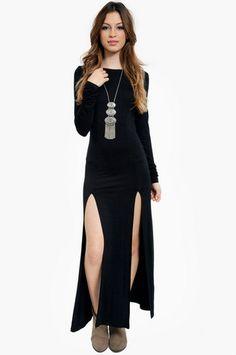Got U Back Maxi Dress $50 at www.tobi.com