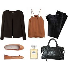 tan by trenchcoatandcoffee on Polyvore featuring BA&SH, Toast, Balenciaga and Chanel