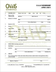 Image result for membership forms for organizations
