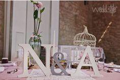Initialen Brautpaar Buchstaben