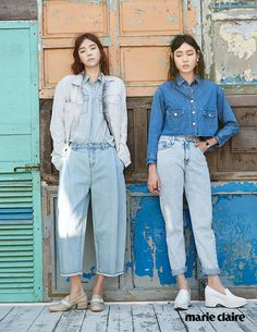 Hwang Gi Ppeum, Yoon So Jung by Lee Gun Ho for Marie Claire Korea April 2015