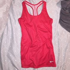 Nike Sports Tank Top Brand new, form fitting Dri-Fit tank top. Nike Tops Tank Tops