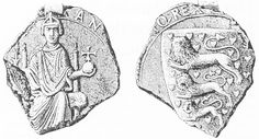 Canute VI was King of Denmark. Reigned 1182-1202.