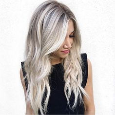@blohaute wearing @bombshellextensions color 60 weft! Hair by Chrissy located at Habit Salon!