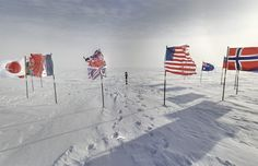 welcome on South Pole with street view !!!