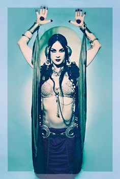 Zoe Jakes - She's a weird one but she sure is an awesome Belly Dancer!
