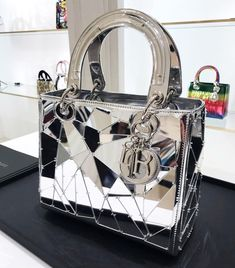 Mirrored Lady Dior bag