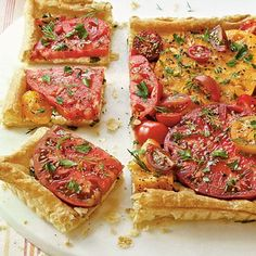 Herbed Tomato Tart from Southern Living August 2011
