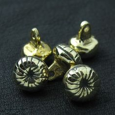 Bronze buttons from medieval Russia. Reenactment. History. Slavic. SCA.