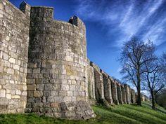 muralla, ciudad, fortaleza, york, inglaterra - Fondos de Pantalla HD…