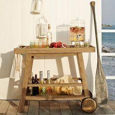 Summer Tea Towel Set - Sea Motif | west elm