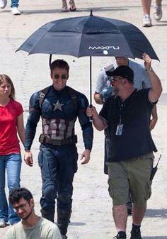 Behind The Scene Captain America: Civil War