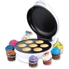 With the Original Cupcake Factory you can make incredible homemade cupcakes with less energy and...